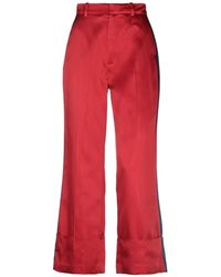 Tommy Hilfiger Casual Pants - Red