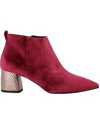 Pollini Ankle Boots - Red