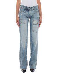 Annarita N. Denim Trousers - Blue