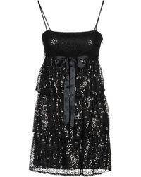 Betsey Johnson Short Dress - Black