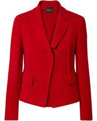 Akris Suit Jacket - Red