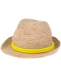 Tracy Watts Hat - Yellow