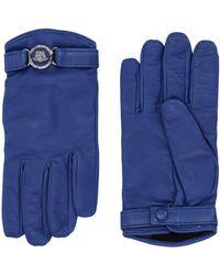 Versace Gants - Bleu