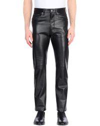 CALVIN KLEIN 205W39NYC Casual Trouser - Black