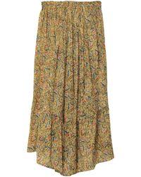 Swildens 3/4 Length Skirt - Green