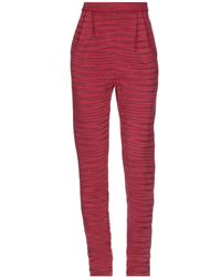 M Missoni Pantalone - Rosso