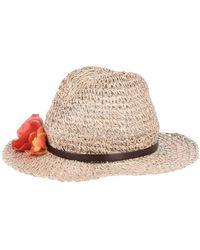 Patrizia Pepe Hat - Natural