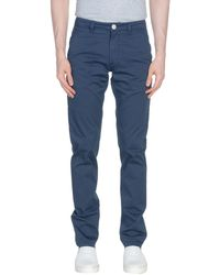Fradi Casual Trousers - Blue