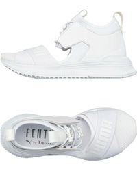 PUMA Sneakers abotinadas - Blanco
