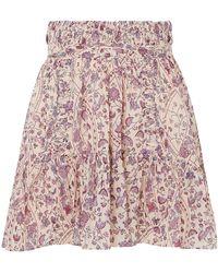 Étoile Isabel Marant Mini Skirt - Natural