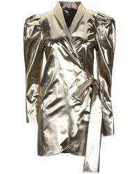 Carla G Short Dress - Metallic