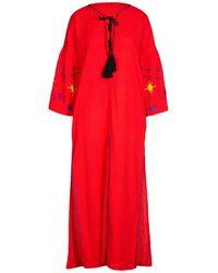 Sensi Studio Long Dress - Red