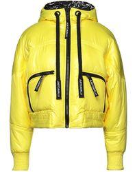 Just Cavalli Down Jacket - Yellow