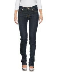 7 For All Mankind - Pantaloni jeans - Lyst