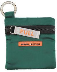 Heron Preston Porte-clé - Vert