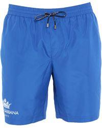 Dolce & Gabbana Short de bain - Bleu