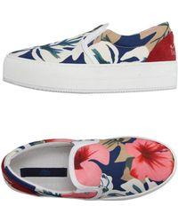 Blue Les Copains Low-tops & Sneakers - Blue