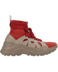 Agnona Trainers - Red