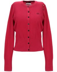 Fred Perry Cardigan - Red