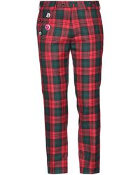 PT Torino Trousers - Red