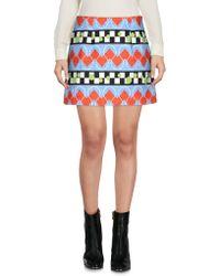 Arthur Arbesser - Mini Skirt - Lyst
