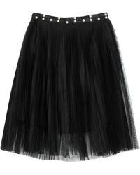Liu Jo Knee Length Skirt - Black