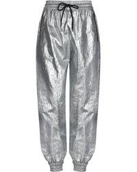 MSGM Pantalon - Métallisé