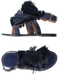 Twin Set - Fringed Sandals - Lyst