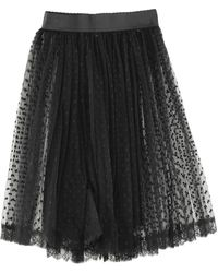 Dolce & Gabbana Midi Skirt - Black
