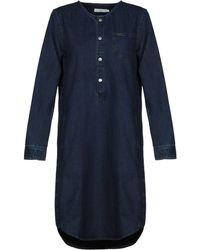 Lee Jeans Knee-length Dress - Blue