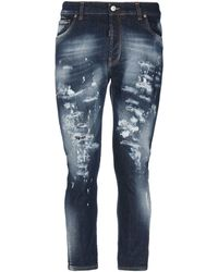 Takeshy Kurosawa Denim Trousers - Blue