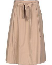 AT.P.CO - 3/4 Length Skirt - Lyst