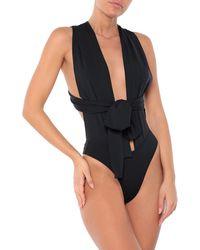 Miss Bikini Luxe Bañador - Negro