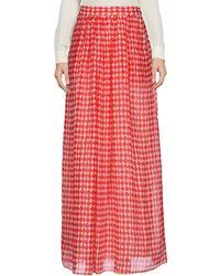 Maliparmi - Long Skirt - Lyst