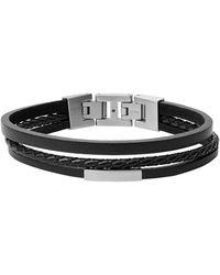 Fossil Bracelet - Black