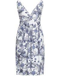 Maliparmi Knee-length Dress - White