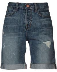 J Brand Shorts jeans - Blu