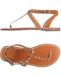 Maison Scotch - Toe Strap Sandals - Lyst
