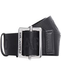 Karl Lagerfeld Cinturón - Negro