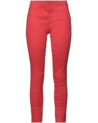 Uma Wang Pantalon - Rouge