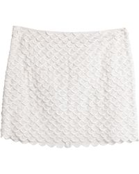 Stella McCartney Mini Skirt - White