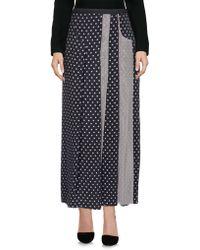 Antonio Marras 3/4 Length Skirt - Purple