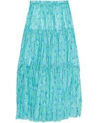 Giada Benincasa Long Skirt - Blue