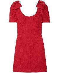 Rebecca Vallance Short Dress - Red