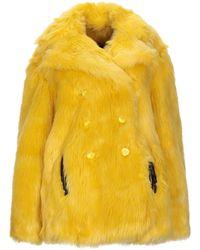 Marco Bologna Faux Fur - Yellow