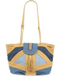 Sessun Shoulder Bag - Blue