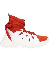 Agnona Sneakers - Rouge