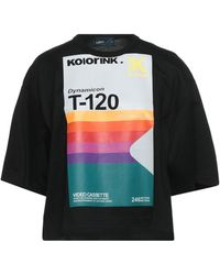Kolor Camiseta - Negro