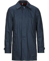AT.P.CO Overcoat - Blue
