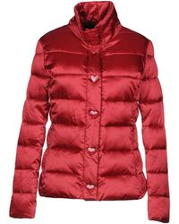 f5ab798429980 Women's Love Moschino Padded and down jackets On Sale - Lyst